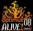 Optimus Alive!08 - os horários